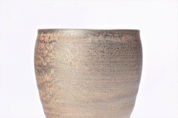 陶悦窯 晶雲母金 ロックカップ 画像サブ2