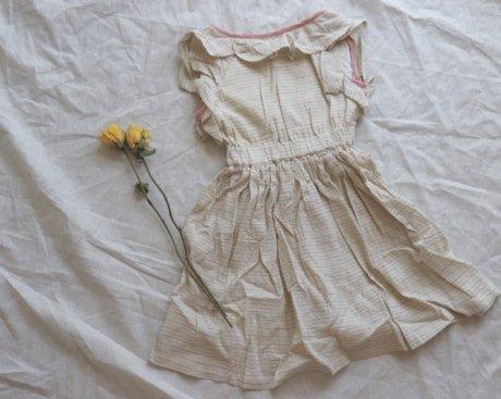 vignette バックオープンドレス[ライトブルー]