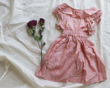 vignette バックオープンドレス[ピンク]