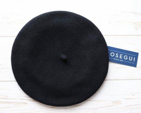 BOINAS ELOSEGUI  kids ベレー帽 ブラック