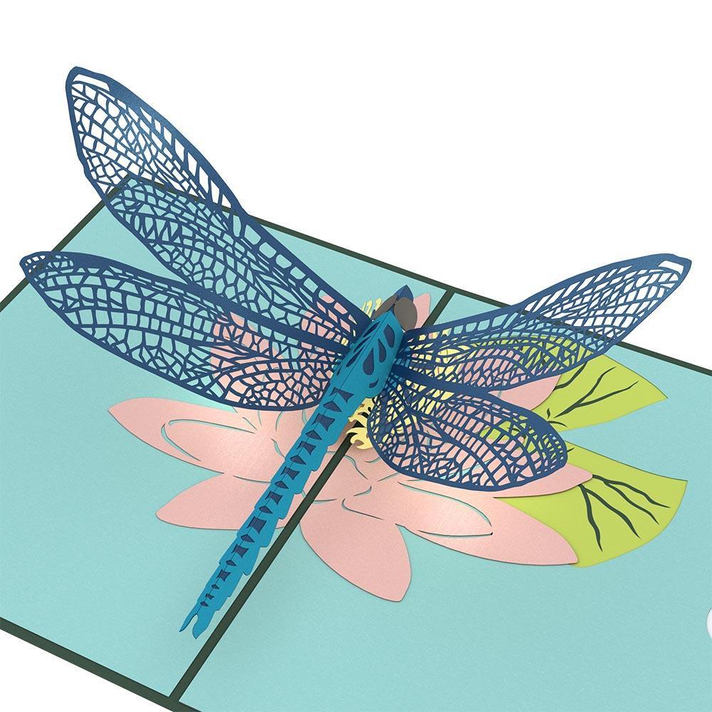Dragonfly 3D card<br>トンボ