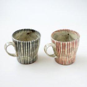 化粧十草|マグカップ|長十郎窯