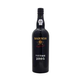 バロス・ヴィンテージ(瓶内熟成)2005年<br>Barros Vintage 2005