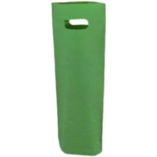 ワイン袋(梨地ポリエチレン) グリーン