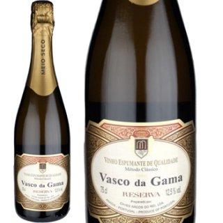 ヴァスコ・ダ・ガマ ミディアムドライ(スパークリング)白<br>Vasco da Gama  MEDIUM DRY Branco