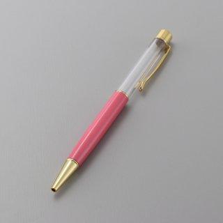 ハーバリウムボールペン本体・ピンク(5本入り)