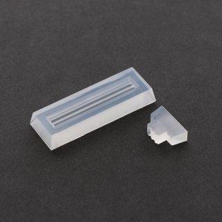 バックプレート用モールド・ハーバリウムペン用【フォントA・B「ミニ」セットとの組み合わせでハーバリウムペンに入れるネームプレートがつくれます】