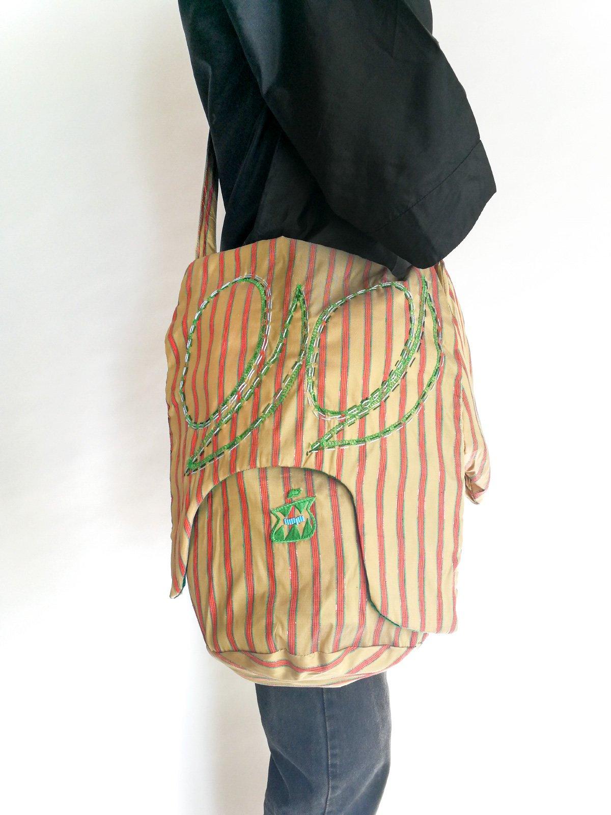 Skoloct Bag (hand stitch) / original beige