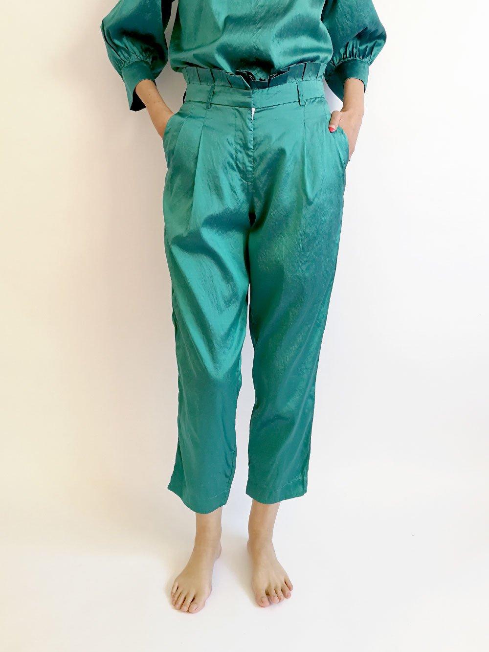 Tucked Pants / original blue