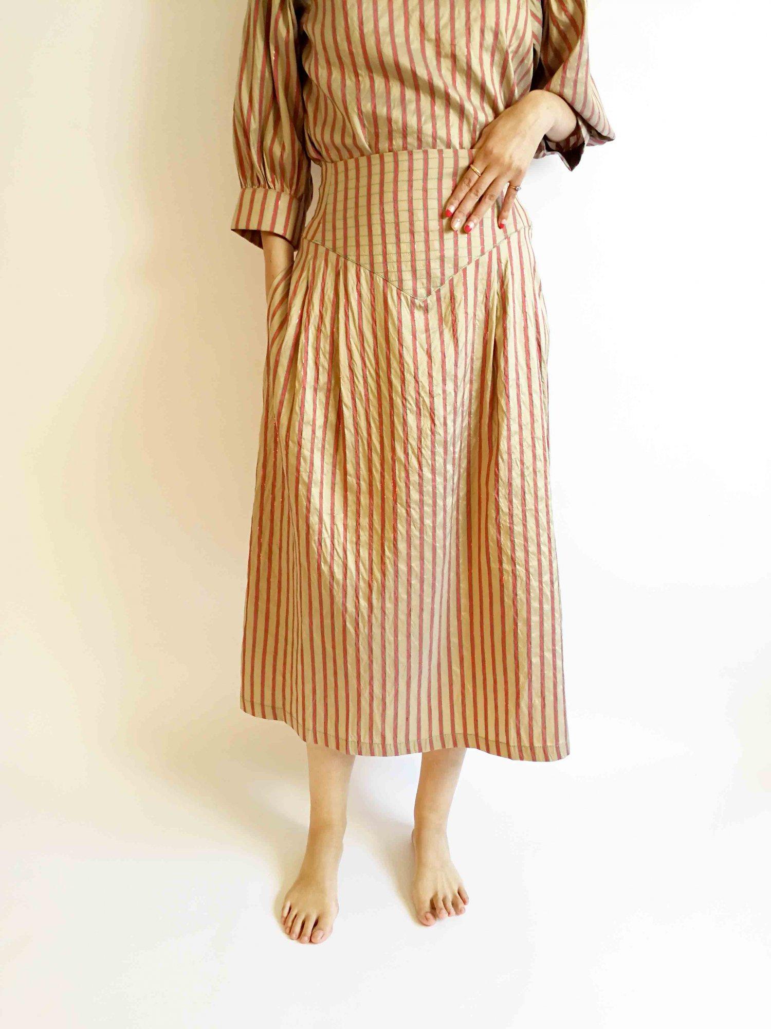 Midi Skirt / original beige