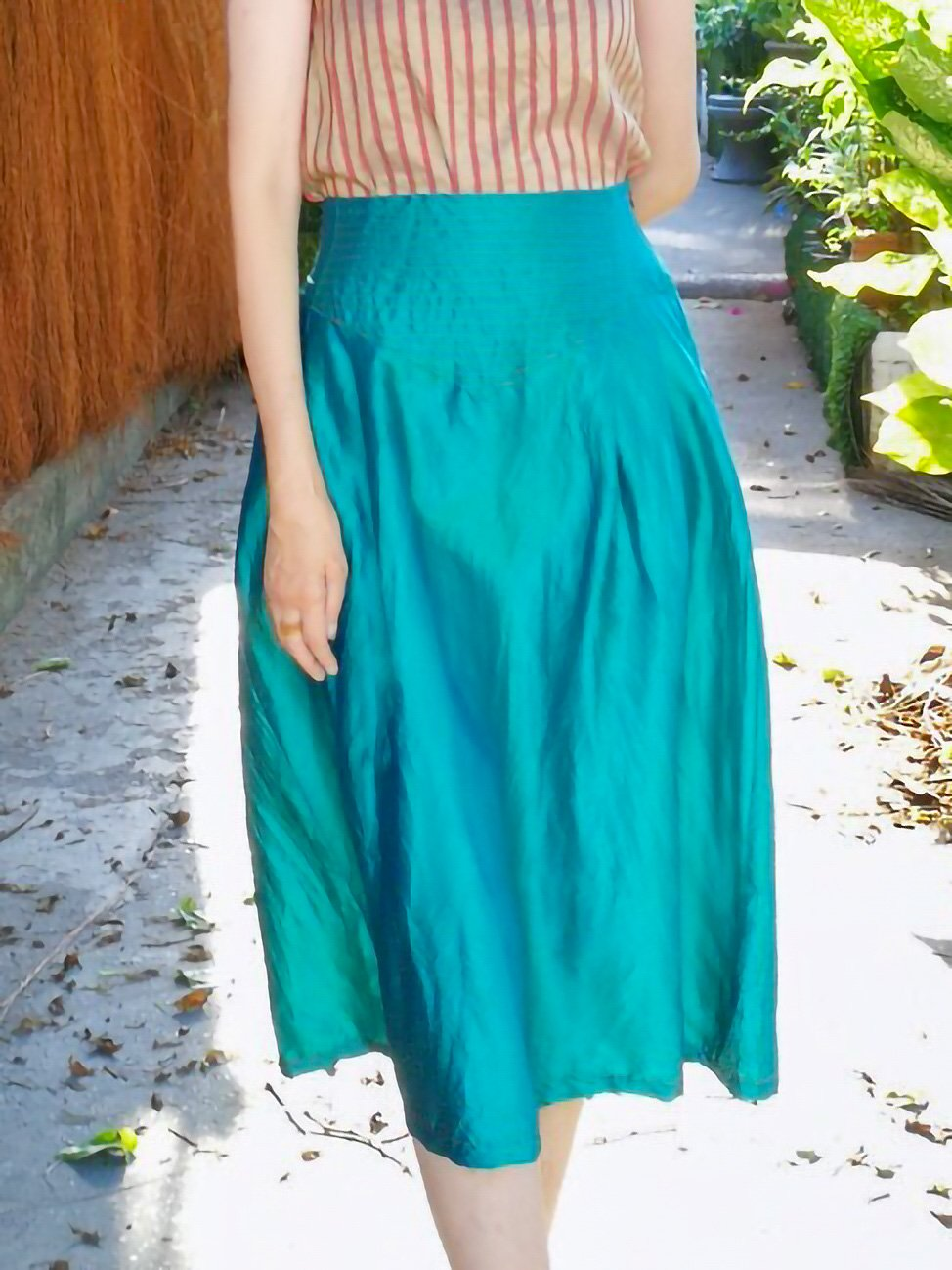 Midi Skirt / original blue