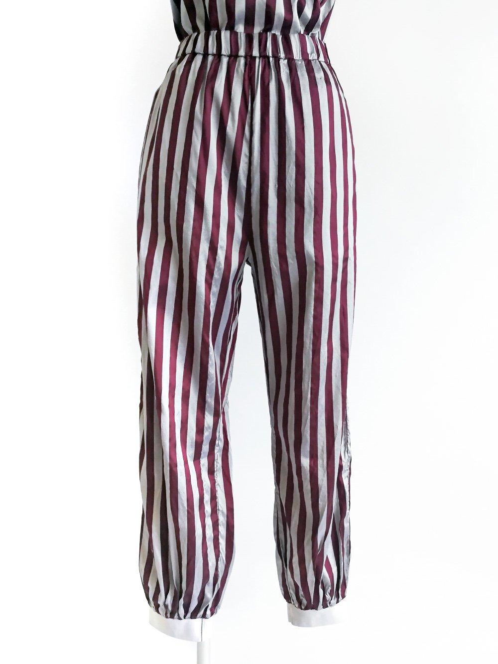 Balloon Pants / original bordeaux