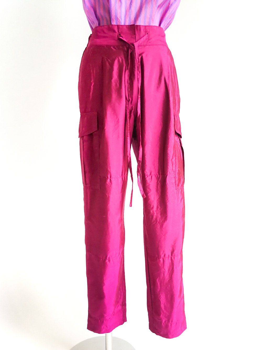 Cargo Pants / magenta
