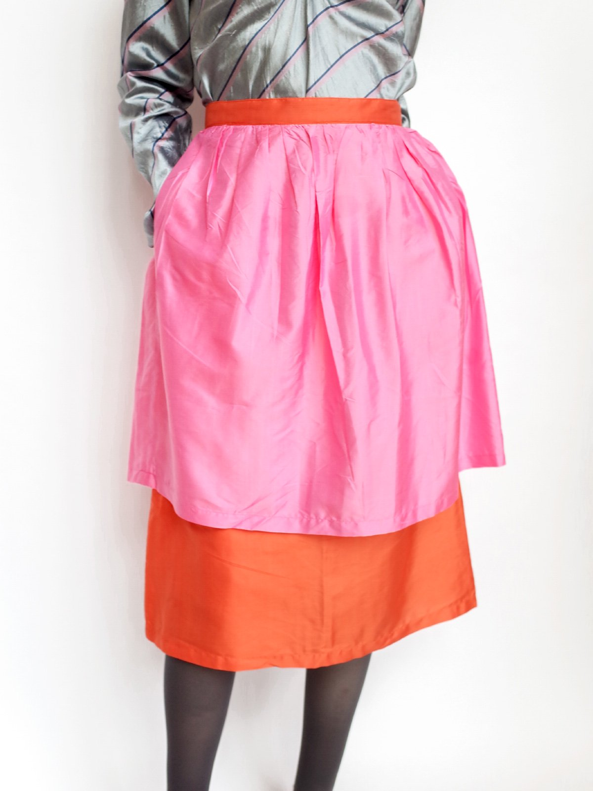 Double Skirt / pink