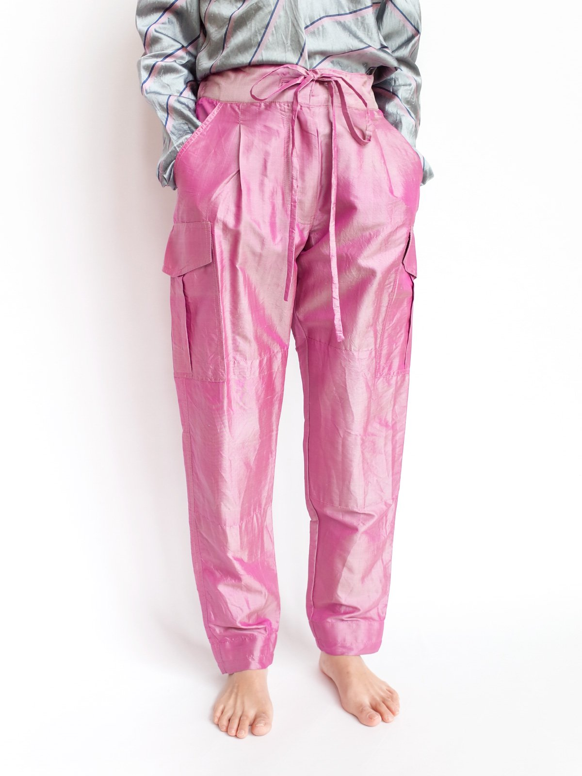 Cargo Pants / moss pink サムネイル