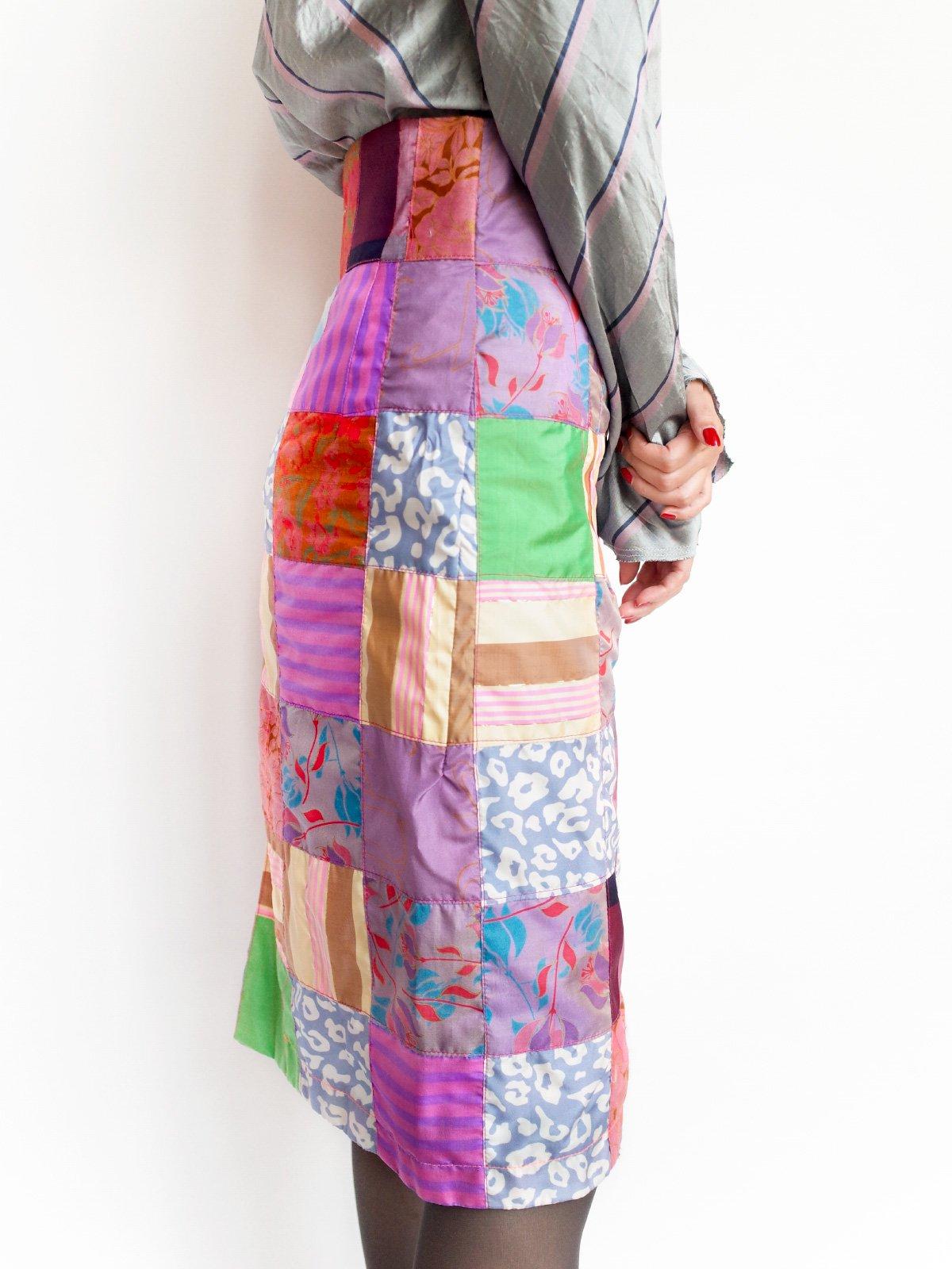 ari × mamarobot / Patchwork Skirt
