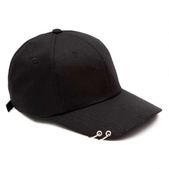 MACK BARRY MACK CURVE RING CAP BLACK