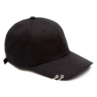 MACK BARRY MACK CURVE RING CAP BLACK