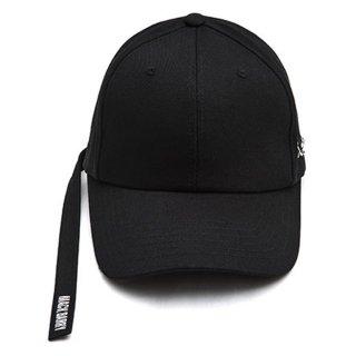 MACK BARRY MACK LONGSTRAP CURVE CAP BLACK