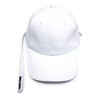 MACK BARRY MACK LONGSTRAP CURVE CAP WHITE