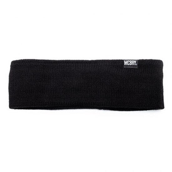 MACK BARRY HAIR BAND BLACK