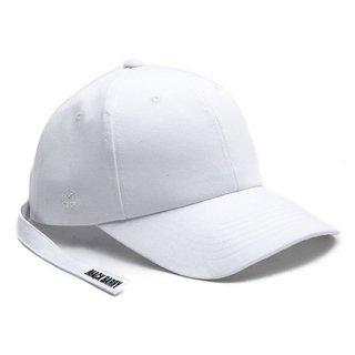 MACK BARRY MACK MIDDLESTRAP CURVE CAP WHITE