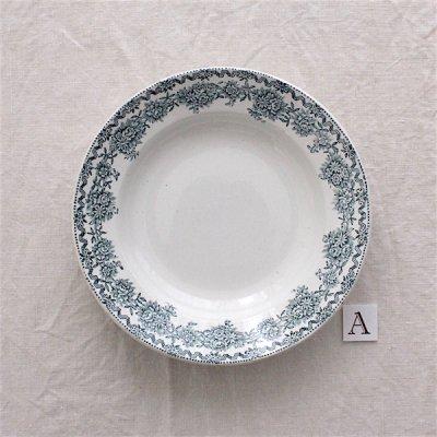 ARGENTON お花ガーランドの深皿22.5cm_A/St.Amand