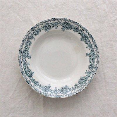 ARGENTON お花ガーランドの深皿22.5cm_B/St.Amand