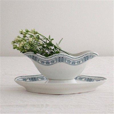 PASTEURお花とパール模様のソーシエール/ムーランデルー/M.D.L