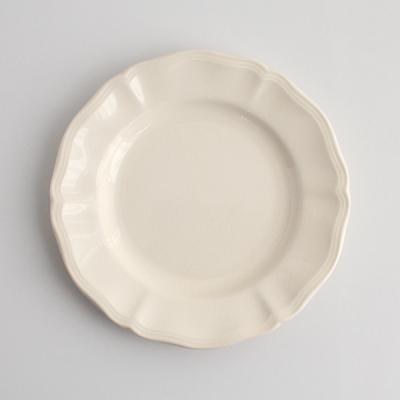 花リム デザート20.5cm_A/Sarreguemines