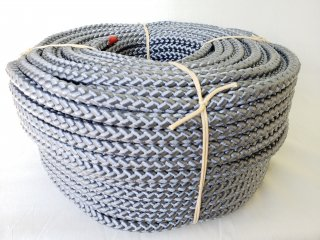 PP8打ロープグレー15�100m巻