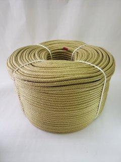 【超特価】PP16打ロープ ライトゴールド6�200m巻