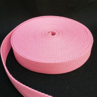 【特価品】手芸用アクリルテープ巾25mm×厚さ2mm×10m巻ピンク