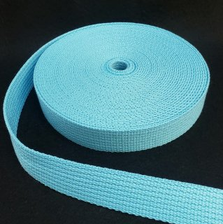 【特価品】手芸用アクリルテープ巾25mm×厚さ2mm×10m巻ライトブルー