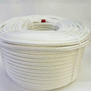 「特価品」スーパーエステル16打ロープ白13�100m巻