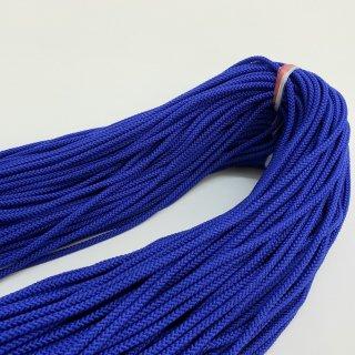 ポリエステルコード(江戸打ち紐)中太 ブルー巾4�×150mカセ巻