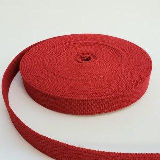 【特価品】手芸用アクリルテープ巾20mm×厚さ2mm×10m巻レッド