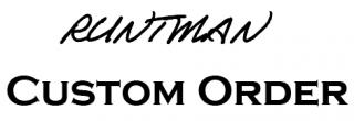 【受注停止中】RUNTMANスレッドカスタム(スピニングタイプ)