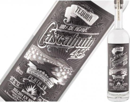カスカウィン テキーラ プラタ979 48% 750ml ※缶バッチをプレゼント中♪