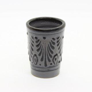 タラベラ焼き  タラベラ ショットグラス ブラック