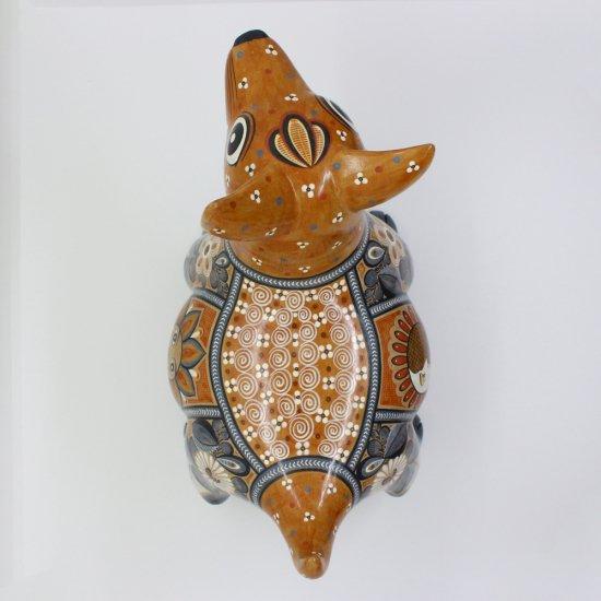 コリマ犬 陶器の置物 -太陽と月-【画像3】