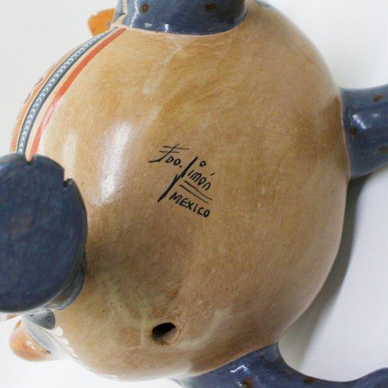 コリマ犬 陶器の置物 -太陽と月-【画像4】