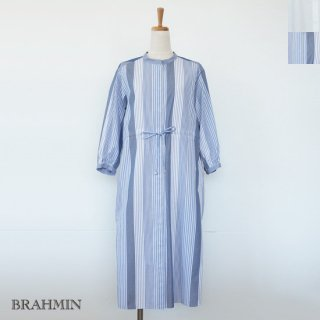 <img class='new_mark_img1' src='https://img.shop-pro.jp/img/new/icons20.gif' style='border:none;display:inline;margin:0px;padding:0px;width:auto;' />SALE [30%OFF] BRAHMIN ノーカラー ストレッチ シャツ ワンピース コットン 返品不可