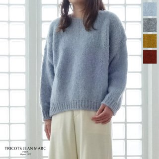 <img class='new_mark_img1' src='https://img.shop-pro.jp/img/new/icons20.gif' style='border:none;display:inline;margin:0px;padding:0px;width:auto;' />SALE [30%OFF] TRICOTS JEAN MARC (トリコジャンマルク) ニット プルオーバー セーター ボートネック フランス製 SWSAMY 返品不可