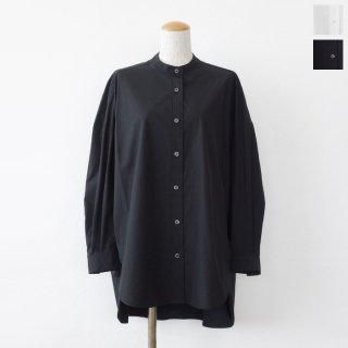 SALE [30%OFF] anana (アナナ) シャツ バンドカラー 長袖 ビッグシルエット ウォッシャブル n20a503 返品不可