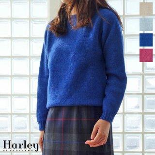 Harley of Scotland (ハーレーオブスコットランド) セーター クルーネック 長袖 ニット プルオーバー L2474/7