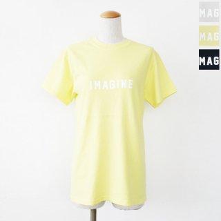 FUNG (ファング) ロゴ Tシャツ 半袖 クルーネック コットン ウォッシャブル IMAGINE FDD211006