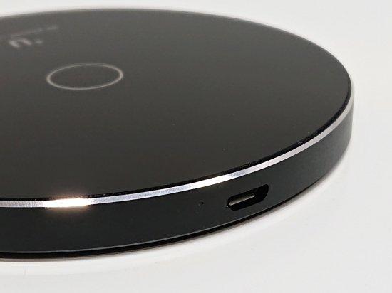 【Qi充電】置くだけで充電!ワイヤレス充電 急速充電対応 スマートフォン汎用【+U】 商品画像