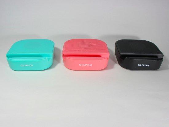 Bluetooth ワイヤレススピーカー 「STAND TUBE(スタンドチューブ)」スタンド機能付き 有線にも対応 吸盤固定 商品画像