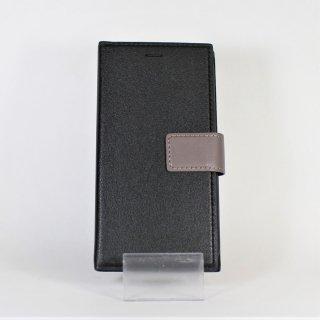 【iPhone 11】 薄型PUレザーフラップケース「PRIME HOOK」